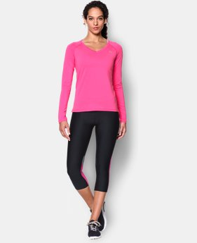 Women's UA HeatGear® Armour Long Sleeve EXTRA 25% OFF ALREADY INCLUDED 1 Color $14.99 to $32.99