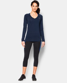 Women's UA HeatGear® Armour Long Sleeve  2 Colors $18.74