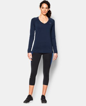 Women's UA HeatGear® Armour Long Sleeve  3 Colors $18.74