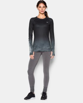 Women's UA ColdGear® Sublimated Cozy Crew LIMITED TIME: FREE U.S. SHIPPING 1 Color $52.99