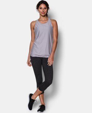 Women's UA Studio Go To Tank  1 Color $33.99