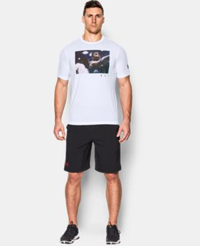 Men's UA x Muhammad Ali Ring Photoreal T-Shirt   $29.99
