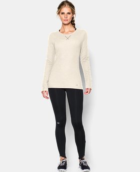 New to Outlet Women's UA Cozy Waffle Long Sleeve  1 Color $29.99 to $39.99