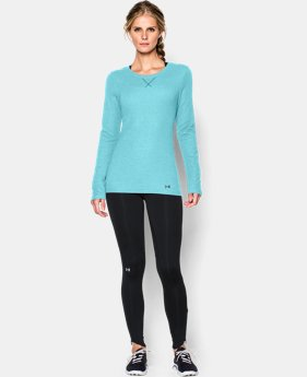 New to Outlet Women's UA Cozy Waffle Long Sleeve  1 Color $23.99 to $29.99