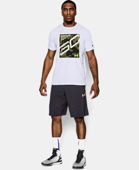 Men's SC30 Stephen Curry Camo Patch T-Shirt