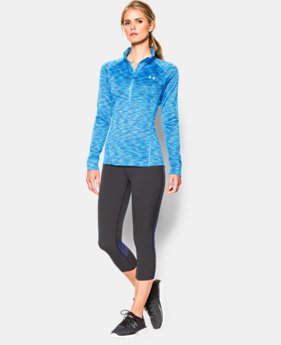 Women's UA Tech™ SpaceDye ½ Zip   $33.99