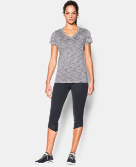 Women's UA Tech™ SpaceDye Short Sleeve  2 Colors $18.99