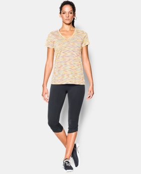 Women's UA Tech™ SpaceDye Short Sleeve   $18.99
