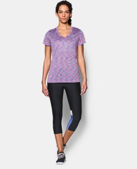 Women's UA Tech™ SpaceDye Short Sleeve