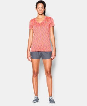 Women's UA Tech™ SpaceDye Short Sleeve  3 Colors $18.99