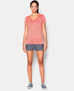 Women's UA Tech™ SpaceDye Short Sleeve   LIMITED TIME: UP TO 50% OFF  $14.24 to $18.99