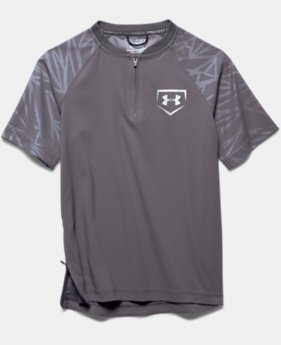 Boys' UA 9 Strong Short Sleeve Cage Jacket