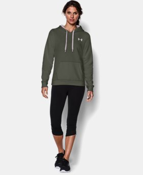 Women's UA Rival Fleece Hoodie  1 Color $25.49