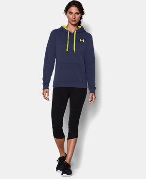 Women's UA Rival Fleece Hoodie LIMITED TIME: FREE U.S. SHIPPING 1 Color $33.99