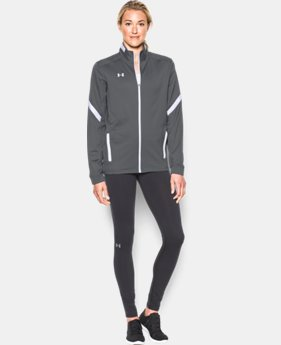 Women's UA Qualifier Knit Warm-Up Jacket  2  Colors Available $64.99