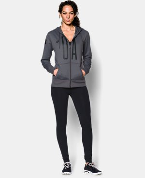 Women's UA Storm Armour® Fleece Full-Zip Graphic Hoodie  1 Color $42.74 to $56.99