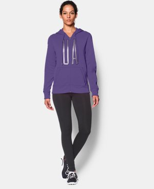 Women's UA Storm Armour® Fleece Full-Zip Graphic Hoodie  2 Colors $42.74 to $56.99