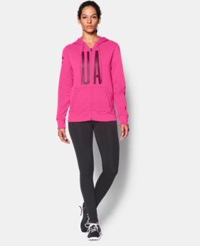 Women's UA Storm Armour® Fleece Full-Zip Graphic Hoodie  1 Color $42.74