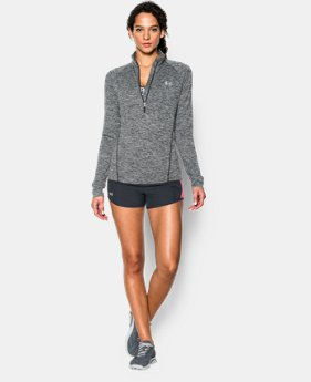 Women's UA Tech™ 1/2 Zip Twist LIMITED TIME: FREE SHIPPING 1 Color $37.49