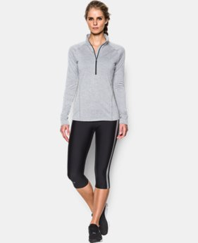 Women's UA Tech™ ½ Zip Twist LIMITED TIME: FREE SHIPPING 1 Color $49.99