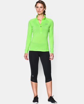 Women's UA Tech™ 1/2 Zip Twist LIMITED TIME: FREE U.S. SHIPPING 2 Colors $33.99
