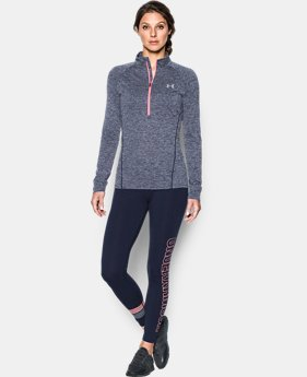 Women's UA Tech™ 1/2 Zip Twist  1 Color $33.74 to $33.99
