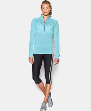 Best Seller Women's UA Tech™ 1/2 Zip Twist LIMITED TIME: FREE U.S. SHIPPING 1 Color $33.74