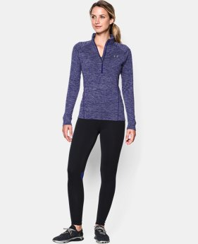 Women's UA Tech™ 1/2 Zip Twist LIMITED TIME: UP TO 30% OFF 2 Colors $33.99