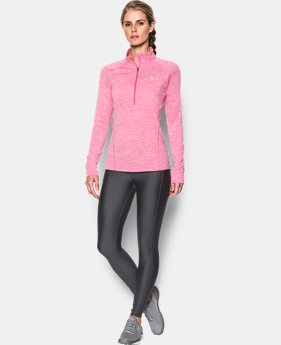 Women's UA Tech™ ½ Zip Twist LIMITED TIME: FREE SHIPPING 1 Color $44.99