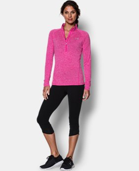 Women's UA Tech™ 1/2 Zip Twist LIMITED TIME: FREE U.S. SHIPPING 1 Color $33.99