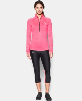 Women's UA Tech™ 1/2 Zip Twist  1 Color $33.99
