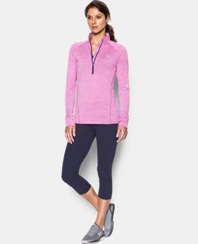Women's UA Tech™ ½ Zip Twist LIMITED TIME: FREE SHIPPING 4 Colors $44.99