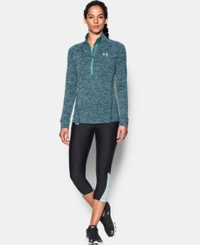 Women's UA Tech™ 1/2 Zip Twist  1 Color $20.99 to $33.99