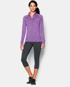 Women's UA Tech™ ½ Zip Twist  1 Color $33.99