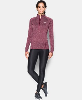 Women's UA Tech™ 1/2 Zip Twist LIMITED TIME OFFER 3 Colors $31.49