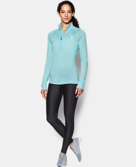 Best Seller Women's UA Tech™ 1/2 Zip Twist  2 Colors $44.99