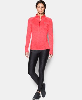 Best Seller Women's UA Tech™ 1/2 Zip Twist  3 Colors $44.99