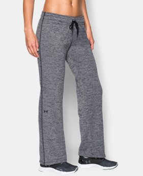 Women's UA Armour® Fleece Lightweight Twist Pant