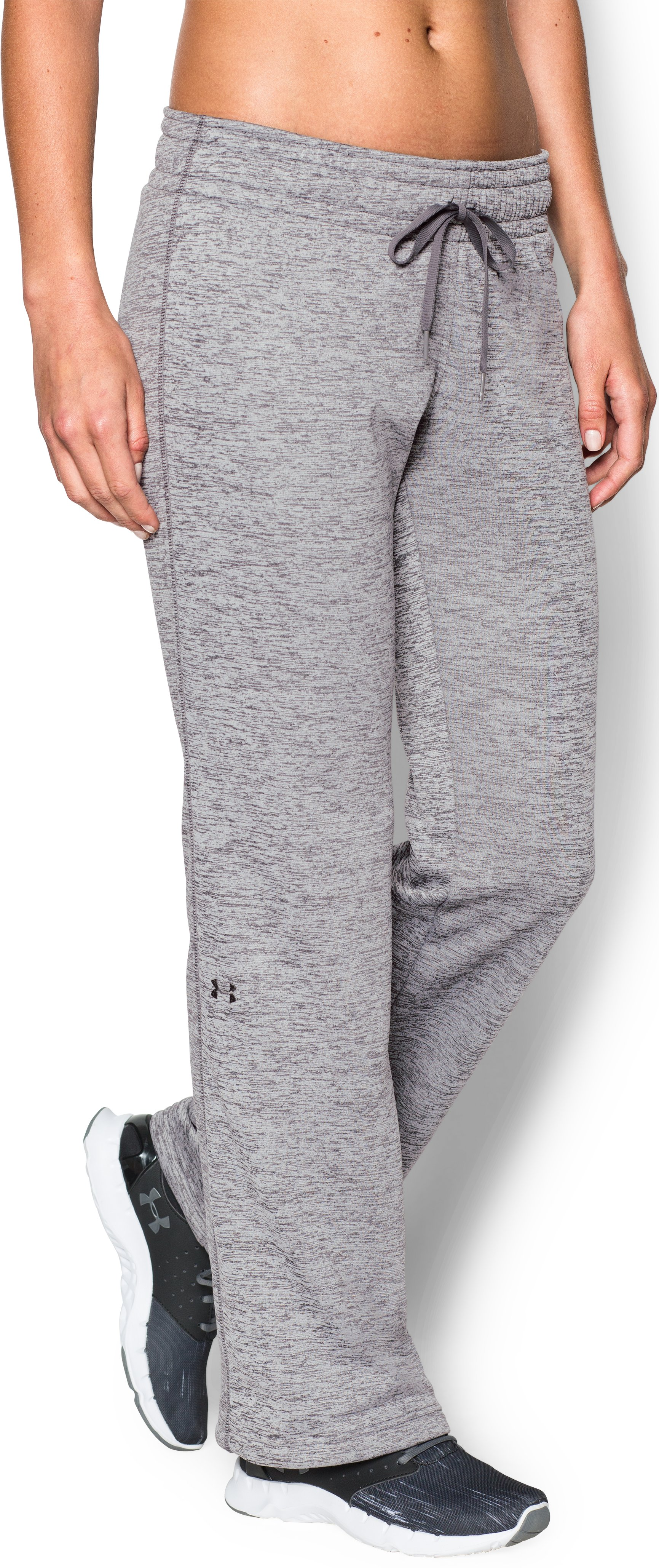 Women's UA Armour® Fleece Lightweight Twist Pant, Graphite