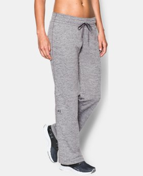 Women's UA Armour® Fleece Lightweight Twist Pant LIMITED TIME: FREE SHIPPING 1 Color $44.99