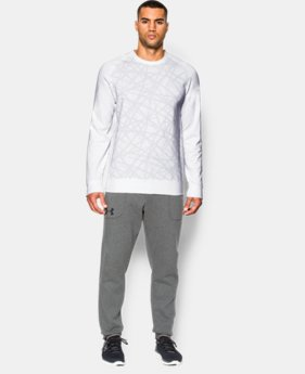 Men's UA Sportstyle Fleece Graphic Crew   $49.99