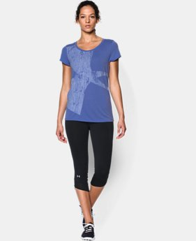 Women's UA Oversized Logo Short Sleeve