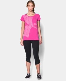 Women's UA Oversized Logo Short Sleeve LIMITED TIME: FREE U.S. SHIPPING 1 Color $22.99