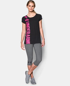 Women's UA Vertical Logo T-Shirt