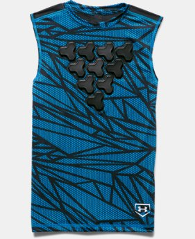 Boys' UA Undeniable Gameday Armour® Chest Sleeveless Shirt