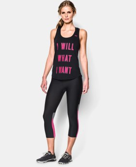 Women's UA I Will What I Want™ Tank