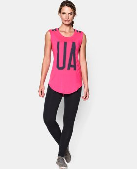 Women's UA Big Stripe T-Shirt  1 Color $26.99