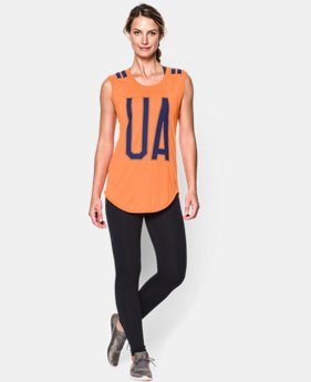 Women's UA Big Stripe T-Shirt  1 Color $20.99 to $26.99