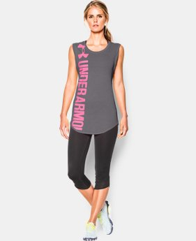 Women's UA Word Mark Back Graphic T-Shirt