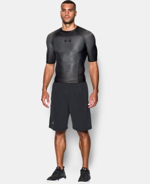 New Arrival  Men's UA Charged Compression Short Sleeve Shirt   $114.99